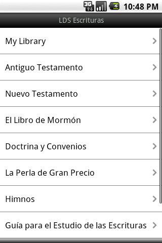 LDS Escrituras - screenshot