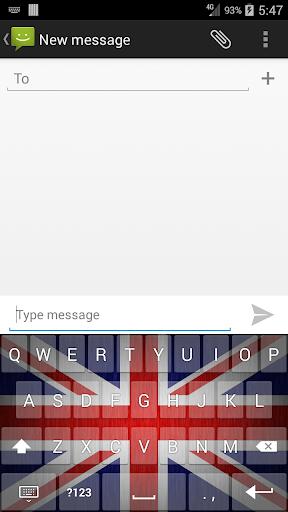 British Flag Keyboard