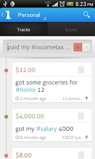 Trackash - Expense Manager - screenshot thumbnail