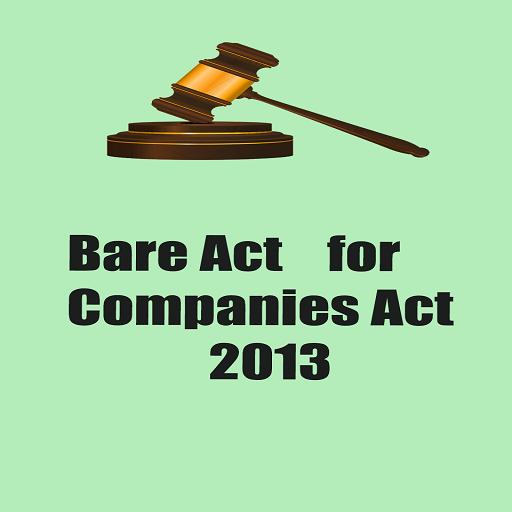 Bare Act for Companies Act2013 LOGO-APP點子