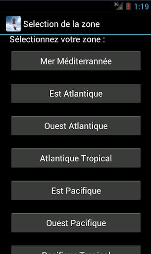 High Sea Marine Forecast