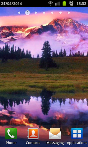 Mountain Lake Live Wallpaper