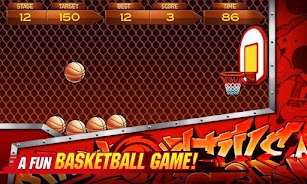 BasketBall 2014 screenshot for Android