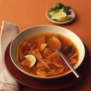 Spicy Sweet Potato Soup.