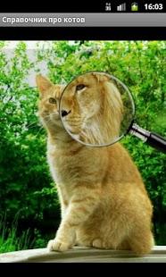 Справочник про котов - náhled
