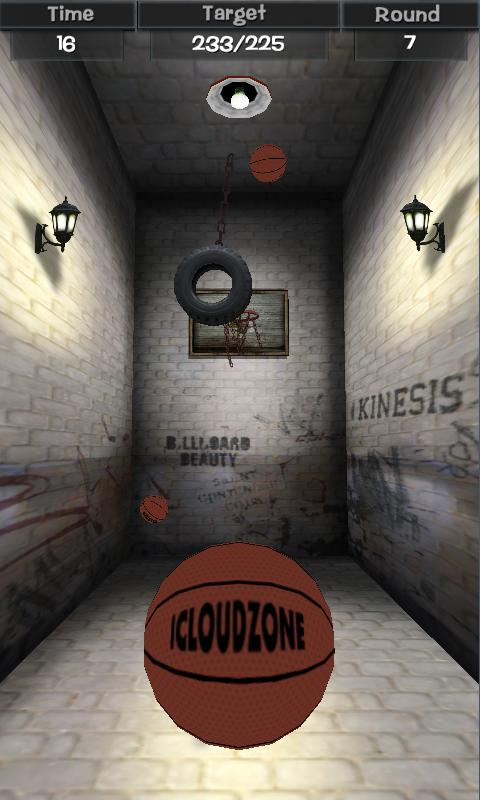 Flick Basketball - screenshot