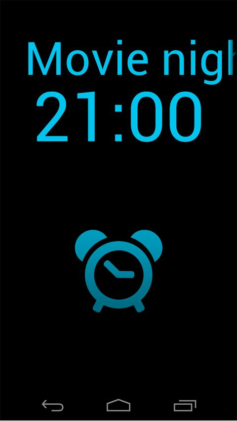 myClock 2 - Alarm Clock - screenshot