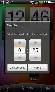 Napply, the quickest nap app - screenshot thumbnail