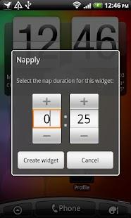 Napply, the quickest nap app - screenshot thumbnail