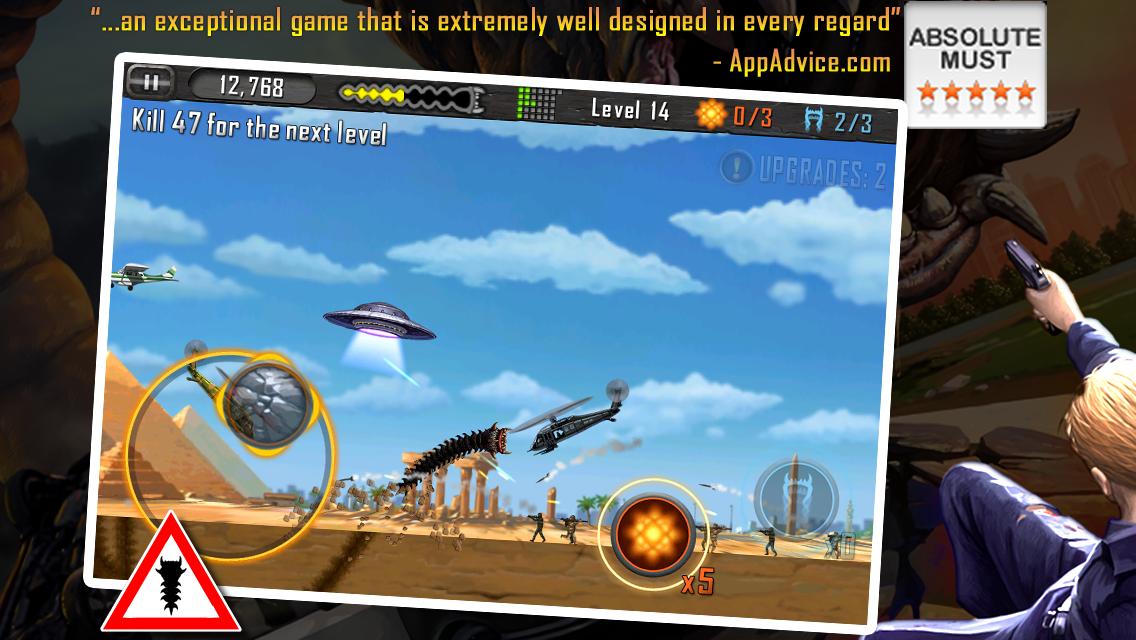 Death Worm - screenshot
