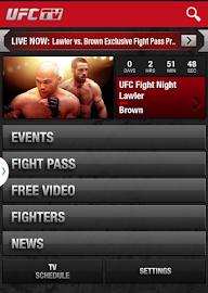 UFC.TV & UFC FIGHT PASS Screenshot 9