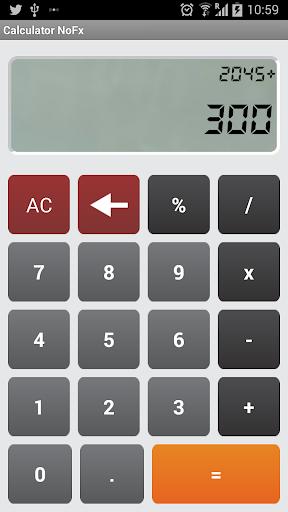 Calculator NoFX