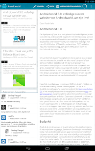 Androidworld Reader - screenshot thumbnail