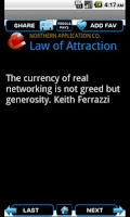 Screenshot of Law of Attraction -- Free