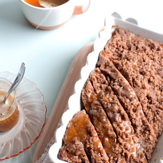 Brown Butter Cinnamon Banana Bread with Brown Butter Honey Drizzle.