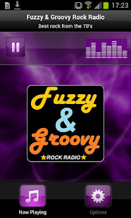 Fuzzy & Groovy Rock Radio- screenshot thumbnail