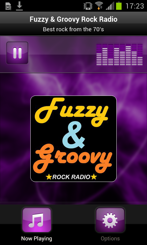 Fuzzy & Groovy Rock Radio- screenshot