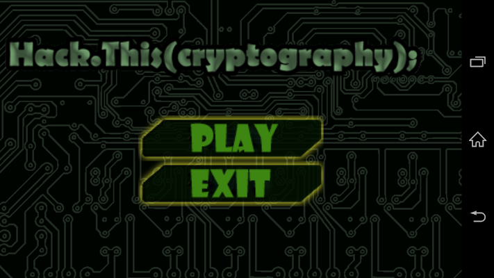 Hack.This(Cryptography) Game - screenshot