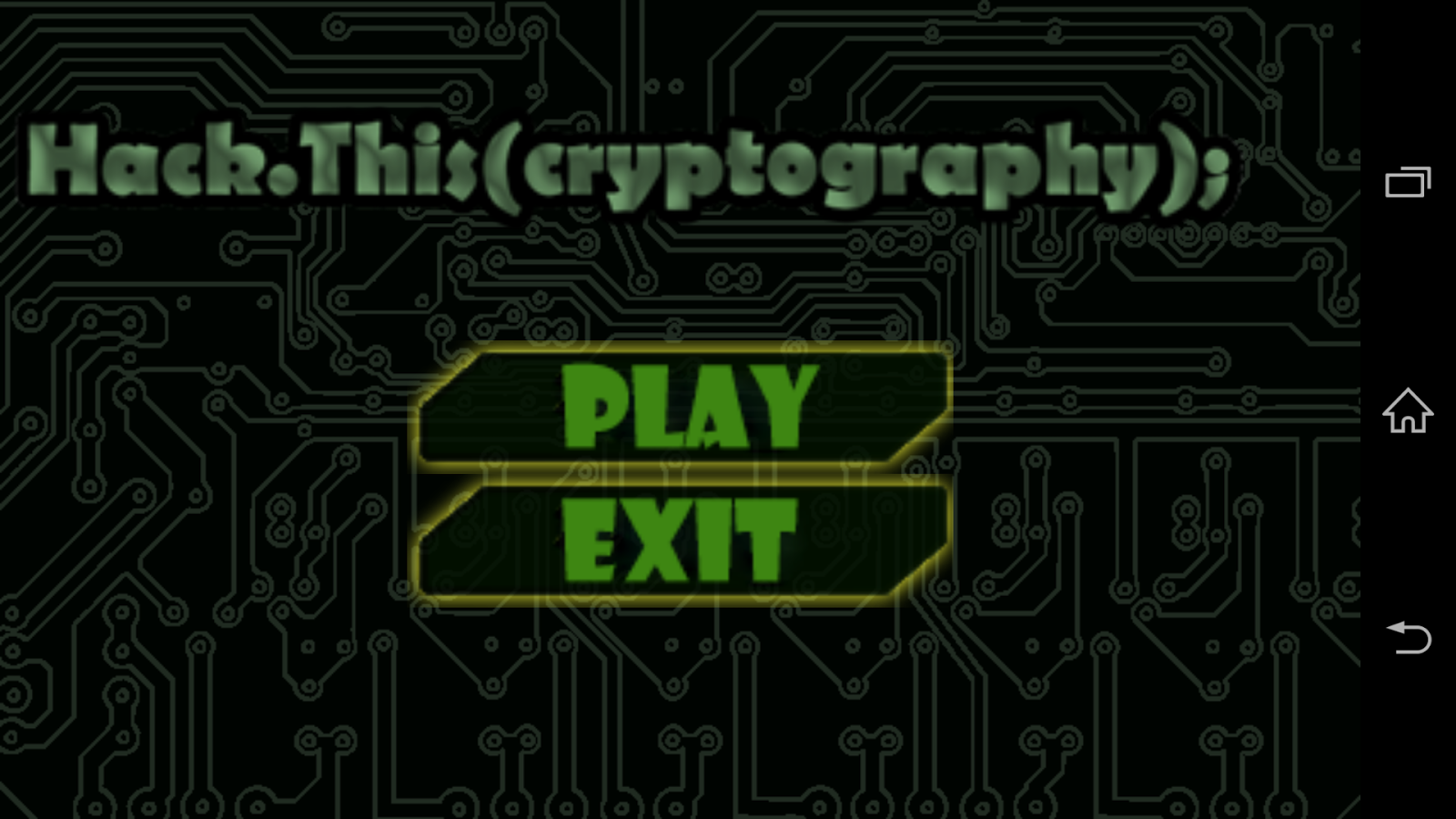 hack this cryptography game android apps on google play hack this cryptography game screenshot