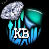 KB SKIN - Ocean Diamond Zebra
