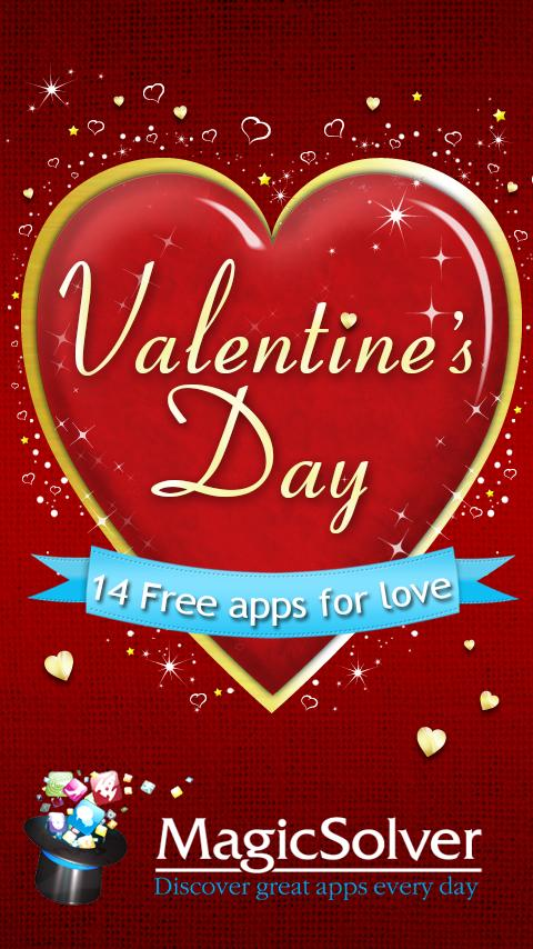 Valentine's day: 14 Free Apps - screenshot