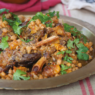 Tender Lamb and Chickpea Tagine