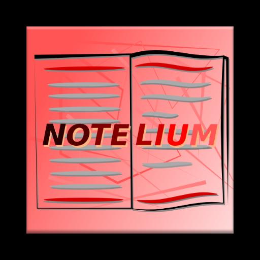 Notelium Notebook 生產應用 LOGO-阿達玩APP