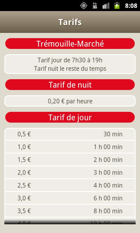 Parking Dijon- screenshot