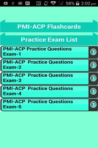 PMI-ACP FlashCards Free