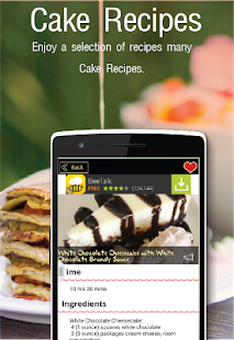 Cake Recipes Free- screenshot thumbnail