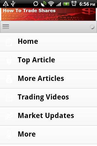 How To Trade Shares. - screenshot