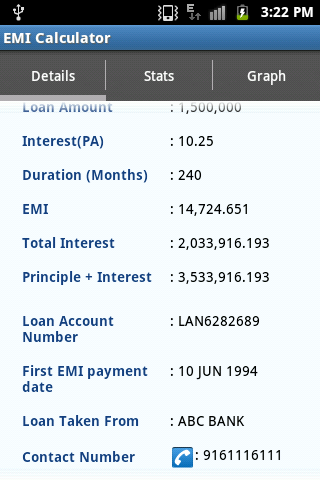 Used car loan emi calculator hdfc