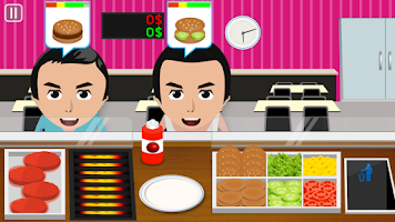 Screenshot of Burger Cooking Game