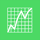 Stock market signals icon