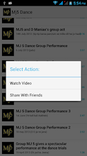 Mj5 Dance Group Videos - screenshot thumbnail