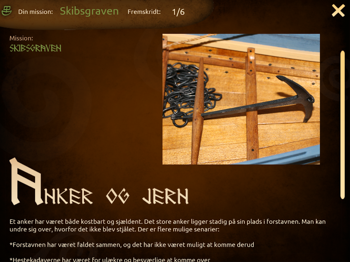 Vikingekongens Grav – screenshot