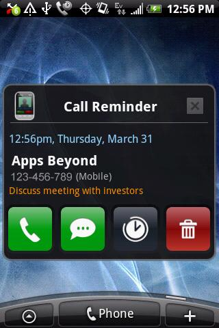 Caller Id Skinz - screenshot