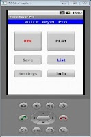 Screenshot of Voice Keyer Pro