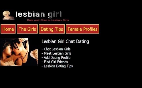 Lesbian Girl Chat Dating - screenshot thumbnail