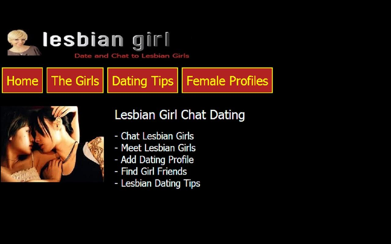 Lesbian Girl Chat Dating - screenshot