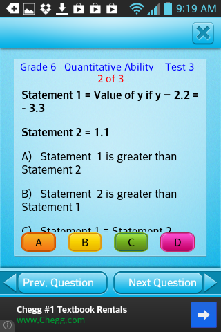 Free Grade 6 Math English 6th- screenshot