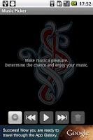 Screenshot of Music Picker