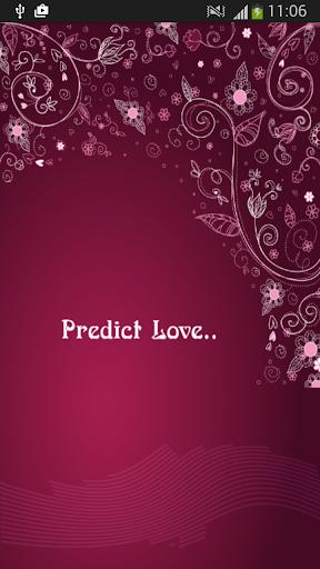 愛情測試愛情預測