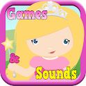 Princess Games For Toddlers icon