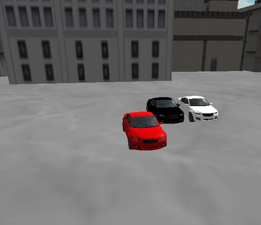 Sport Car City Simulation 3D