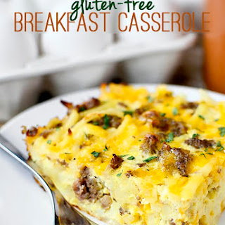 Gluten-Free Breakfast Casserole.