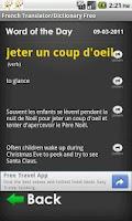 Screenshot of French English Translator Free