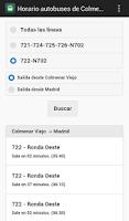 Screenshot of Autobuses de Colmenar Viejo