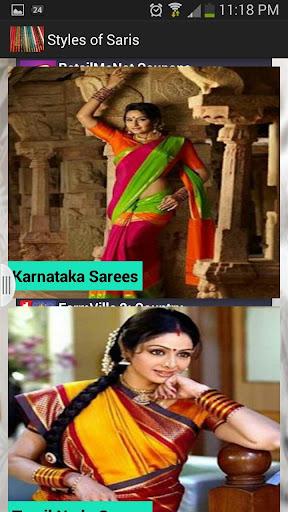 The Sarees Of India