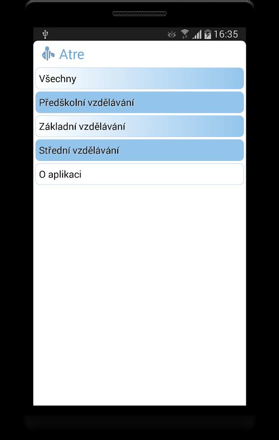 Škola a zákony - screenshot